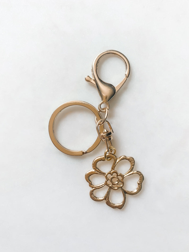 Flower Child Keychain - The Pretty Eclectic