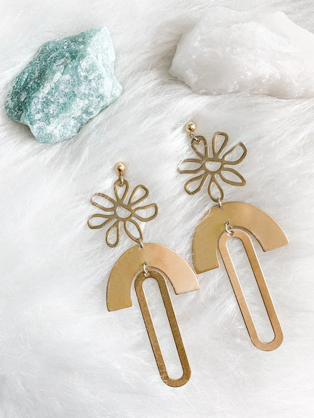 Flower Power Earrings - The Pretty Eclectic