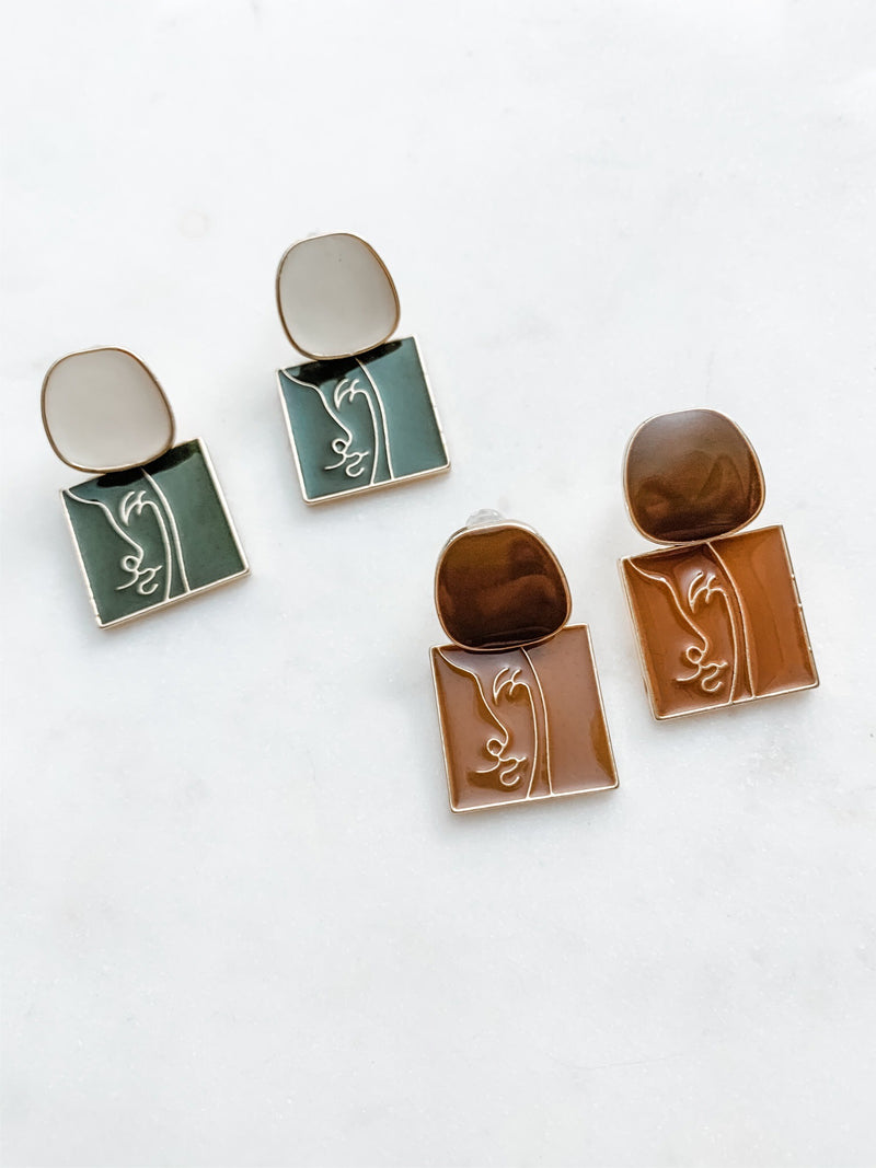 Lady Line Earrings (Buy 1, Get 1 50% Off!) - The Pretty Eclectic