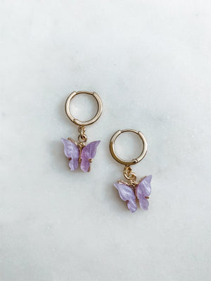Butterfly Earrings 2.0 - The Pretty Eclectic