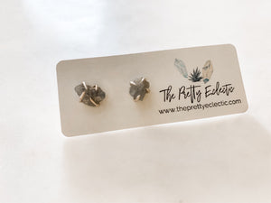 Crystal Stone Studs - The Pretty Eclectic