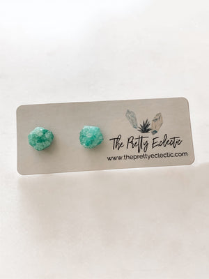 Crystal Stone Studs (Buy 1, Get 1 50% Off!) - The Pretty Eclectic