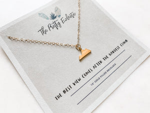 Mountain Necklace - The Pretty Eclectic