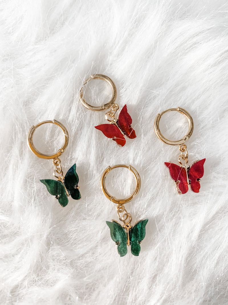 Butterfly Earrings - Buy 1 get 1, 50% OFF - The Pretty Eclectic