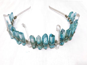 Aqua Venus Crown - The Pretty Eclectic