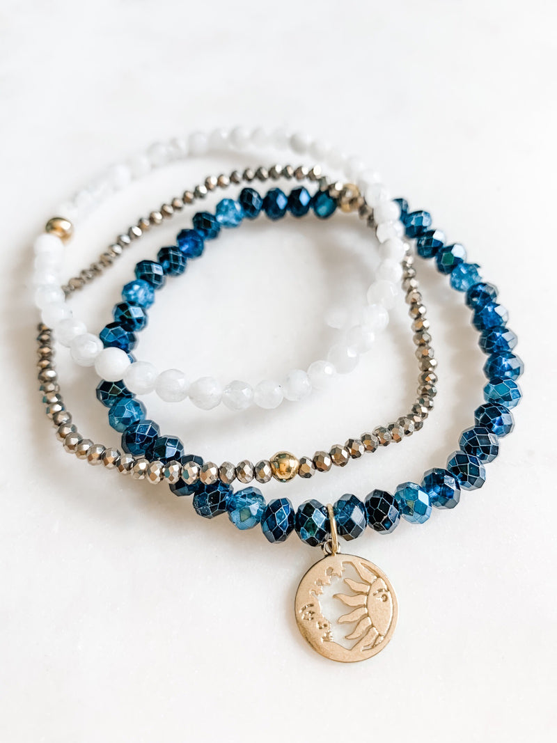 Luna del Sol Bracelet Set - The Pretty Eclectic