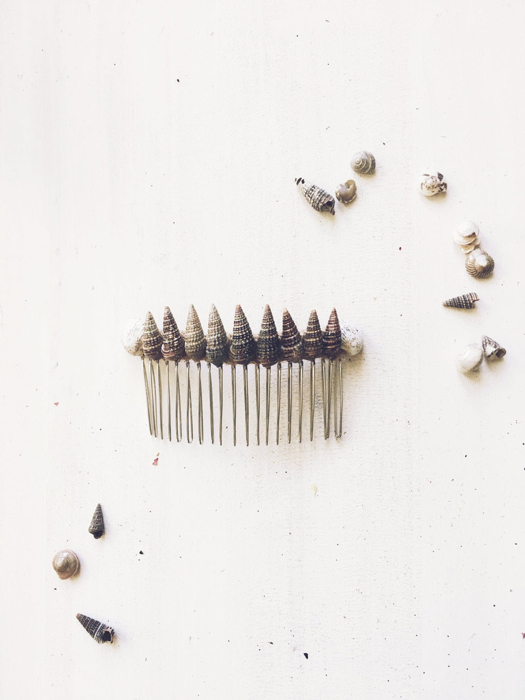 Shell Hair Comb - The Pretty Eclectic