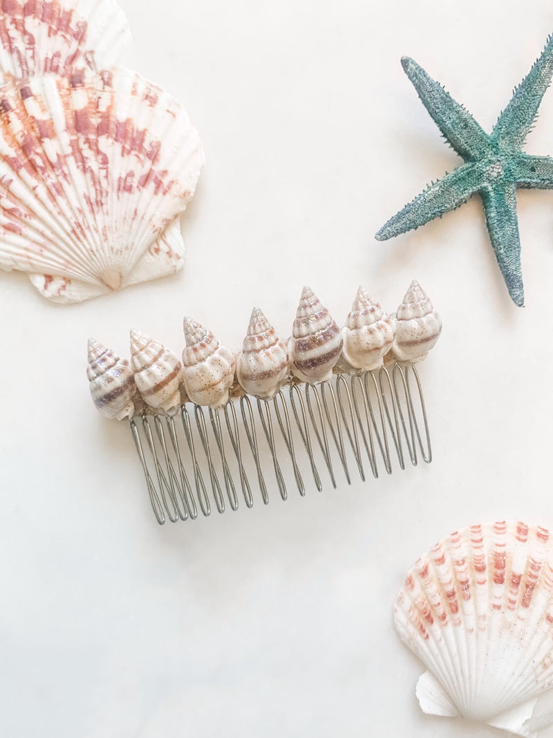 Seashell Hair Comb - The Pretty Eclectic
