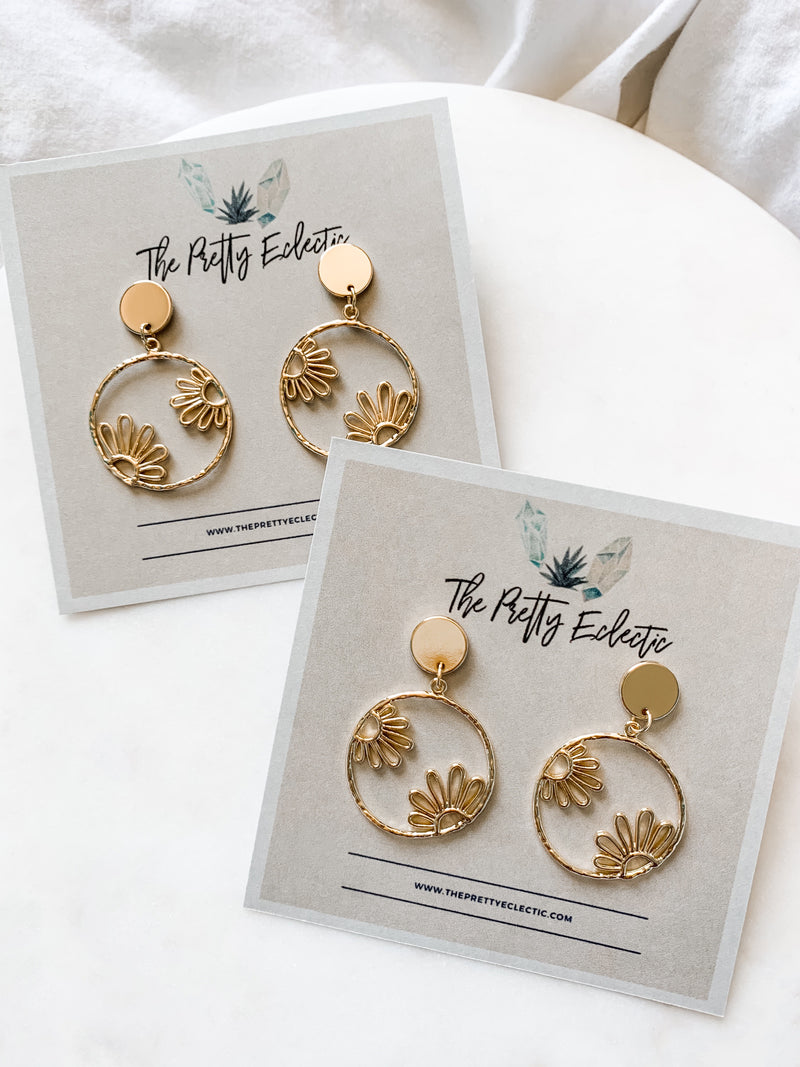 Daisy Daze Earrings - The Pretty Eclectic
