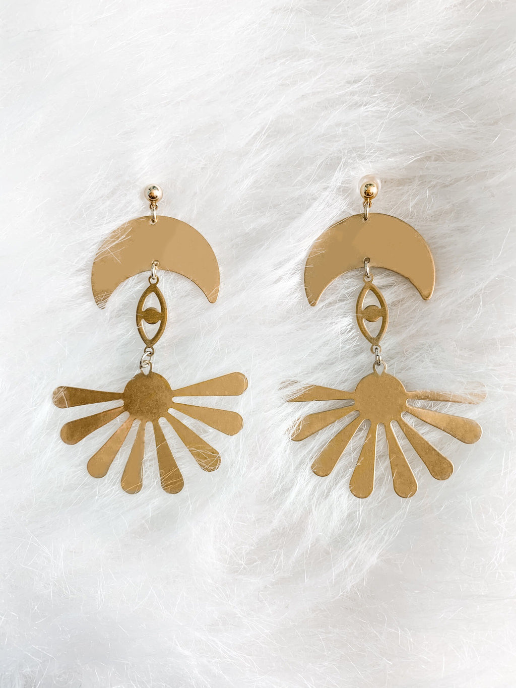 Moondazed Earrings - The Pretty Eclectic