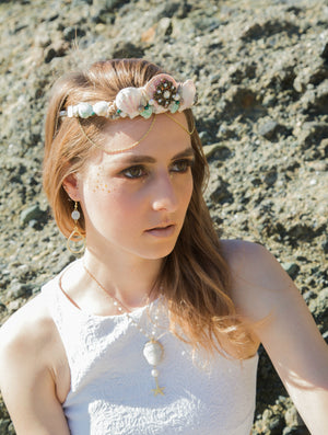 Diana Shell Crown - The Pretty Eclectic