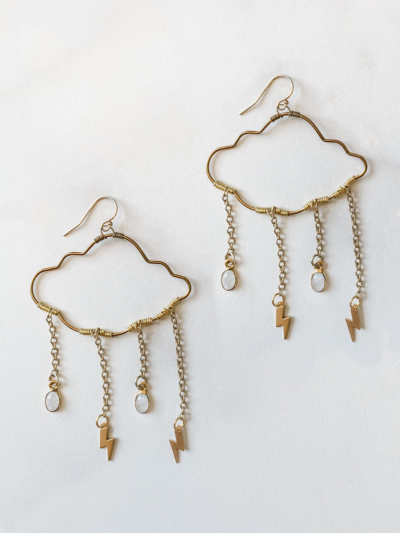 Perfect Storm Earrings - The Pretty Eclectic