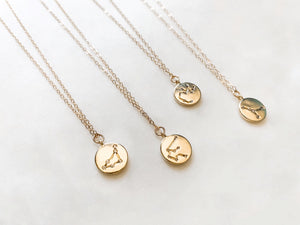 Zodiac Constellation Necklace - The Pretty Eclectic