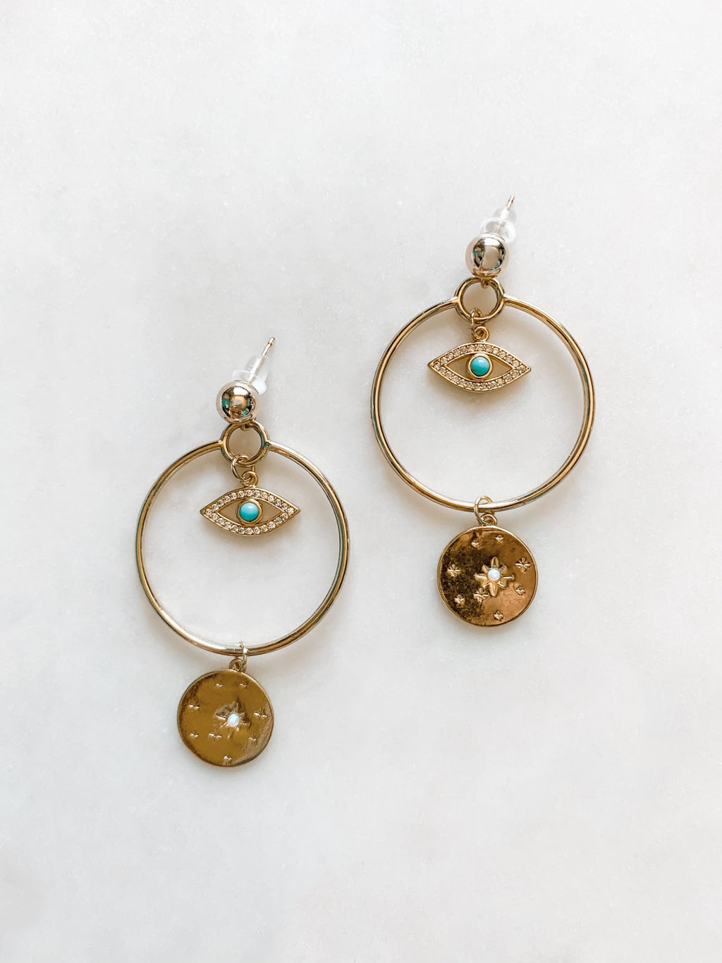 Third Eye in the Sky Earrings - The Pretty Eclectic