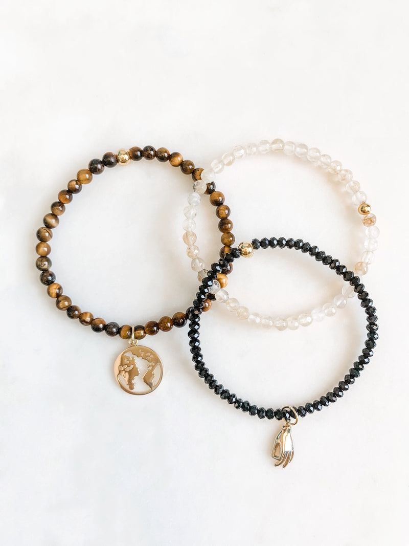World In Your Hands - Bracelet Set