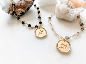 Astrological Sign - Zodiac Bracelet - The Pretty Eclectic