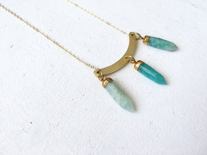 Amazonite Necklace - The Pretty Eclectic