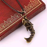 2017 New Personalized Fish Shape Pendant Necklace-Necklaces & Pendants-Amboo MarKt Store