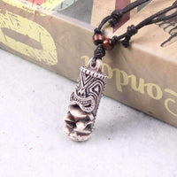 Adjustable Wax Cord Tied Ancient Egypt Pendant Necklace-Necklaces & Pendants-Amboo MarKt Store