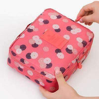 Eco-Friendly Colorful Travel Cosmetic Make up Storage Box-Storage Bags-Amboo MarKt Store