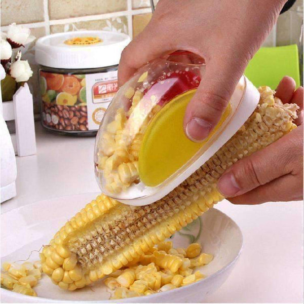 Eco-Friendly Corn Stripper Peeler with Hand Protector-Fruit & Vegetable Tools-Amboo MarKt Store
