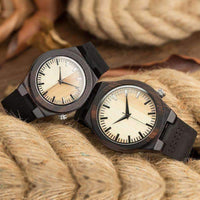 Fashion Casual Couple Wooden Watch-Neutral Watches-Amboo MarKt Store