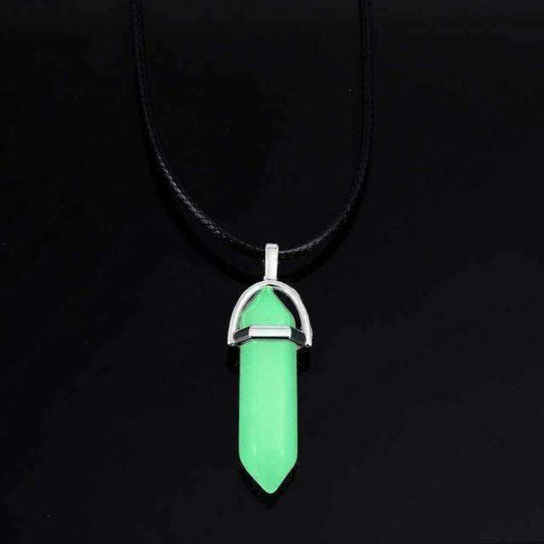 natural s image rainbow chakra jewelry quartz crystal loading is stone irregular necklace pendant itm