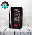 Halloween Background Design Wallet Phone Case-Wallet Case-Amboo MarKt Store