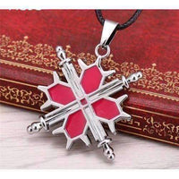 Hot Anime Knight Metal Necklace Pendant-Necklaces & Pendants-Amboo MarKt Store