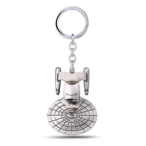 Hot! Star Trek Spacecraft U.S.S. Enterprise Key Chain-Key Chains-Amboo MarKt Store