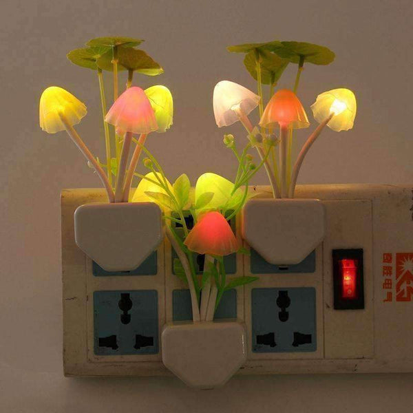 Lovely LED Mushroom Night Light Lamp for Baby Room Decor-Night Light-Amboo MarKt Store