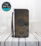 Luxury Wallet Phone Case with Mandala-Wallet Case-Amboo MarKt Store