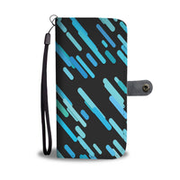 Modern Chaotic Design Wallet Phone Case-Wallet Case-Amboo MarKt Store