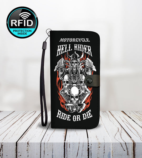 Motorcycle8 Wallet Phone Case-Wallet Case-Amboo MarKt Store