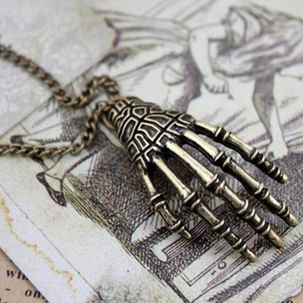 New Hot Sale Punk Style Bone Claws Necklace-Necklaces & Pendants-Amboo MarKt Store