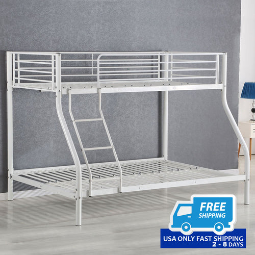 Space-saving Metal Kids Twin Bed Frame Bunk