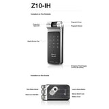 2 IN 1 FUNCTION MINI SMART FINGERPRINT DOOR LOCK MODEL#F10