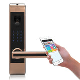 5 in 1 function Smart WiFi fingerprint door lock Model#313A-RG