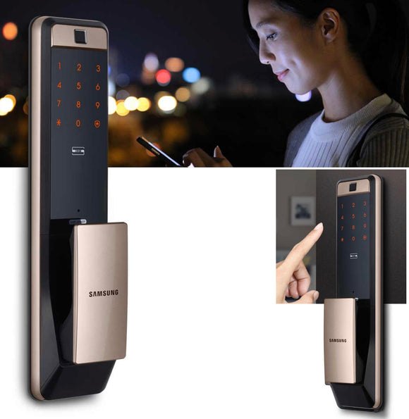 Samsung SMART WIFI FINGERPRINT DIGITAL DOOR LOCK MODEL#609 wifi版