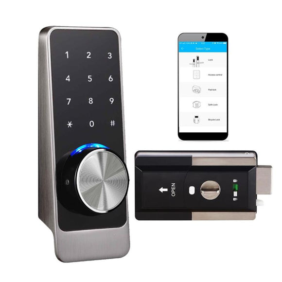 Copy of 4 IN 1 FUNCTION BLUE TOOTH KEYPAD DOOR LOCK MODEL#D401W