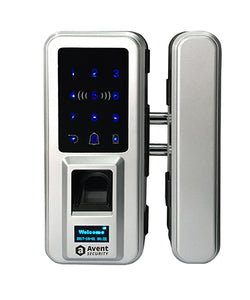3 in 1 function smart fingerprint keypad glass door lock Model#M90