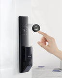 6 IN 1 FUNCTION SMART WIFI FINGER VEIN (指靜脈鎖) DOOR LOCK MODEL#P89 Black