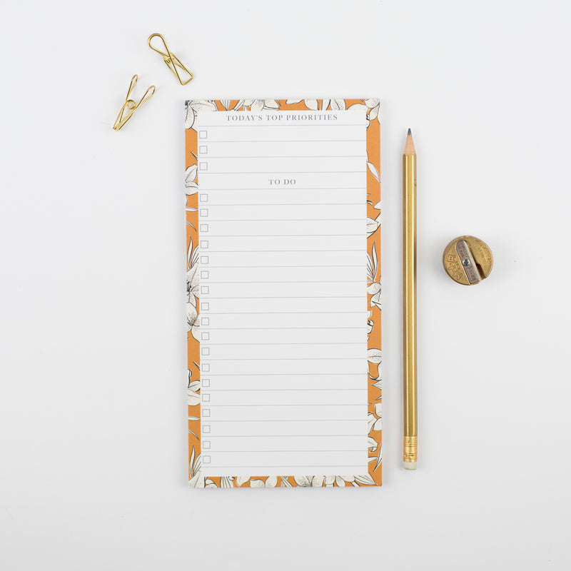 Lily To-Do List Pad