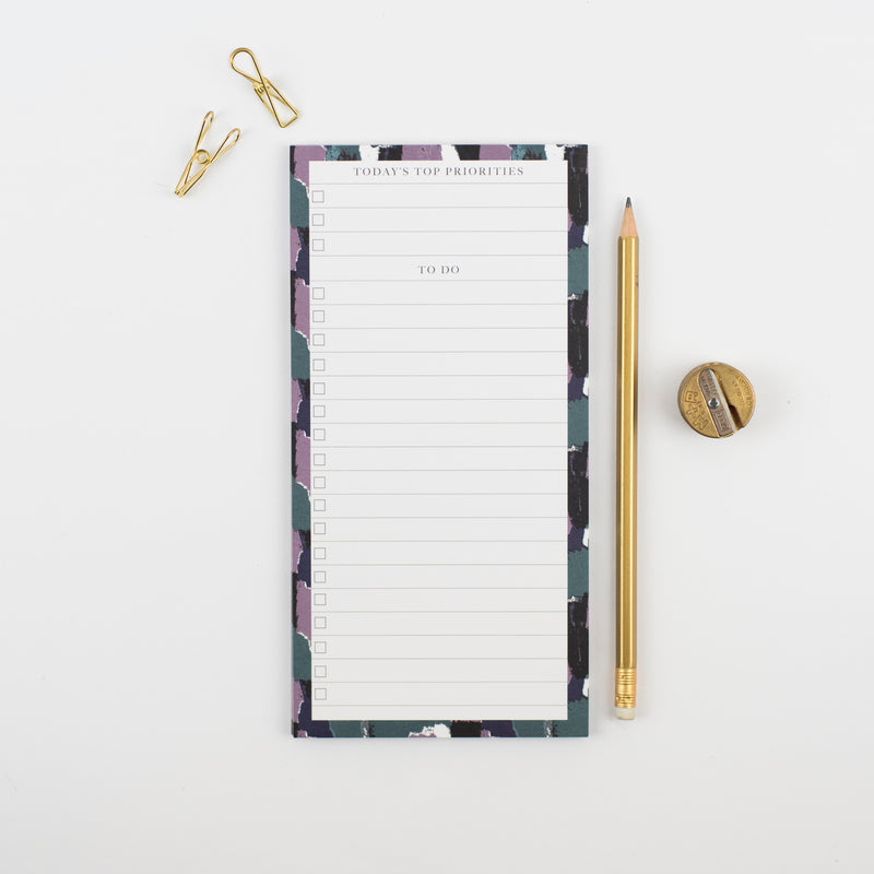 Brushed Dots To-Do List Pad