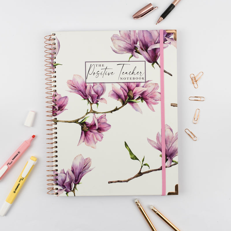The Positive Teacher Notebook - Blossom