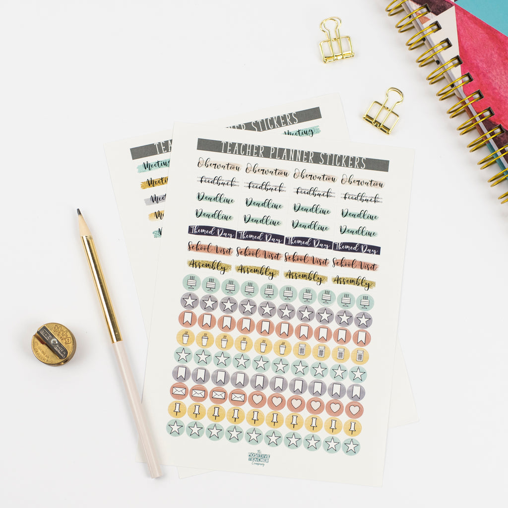 Planner Stickers Base Pack