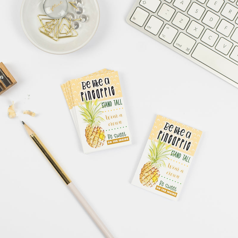 Be like a pineapple Praise Cards