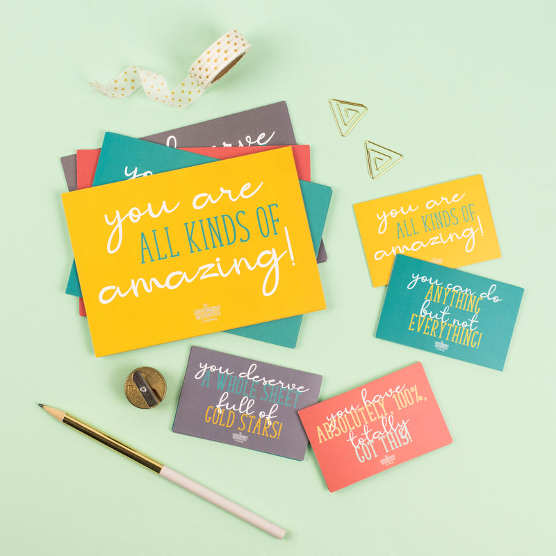 Teacher Wellbeing Postcards (Mixed)