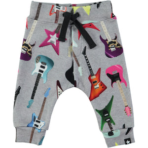 413ee8efd060a MOLO Baby Boys Pants Solomi Rock Guitar Grey Sweatpants