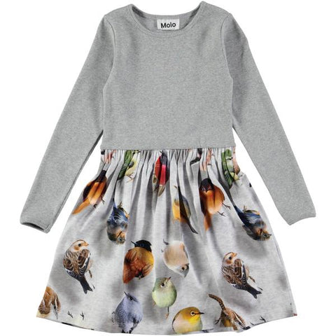 1a8598234ea10 MOLO Credence Girls Designer Bouncing Birds Dress